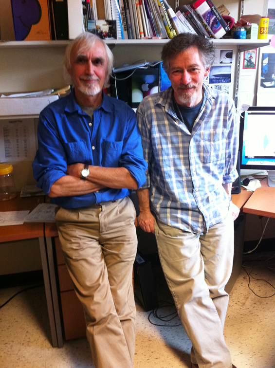 Paul Driessen and Randall Finnerty, NFB