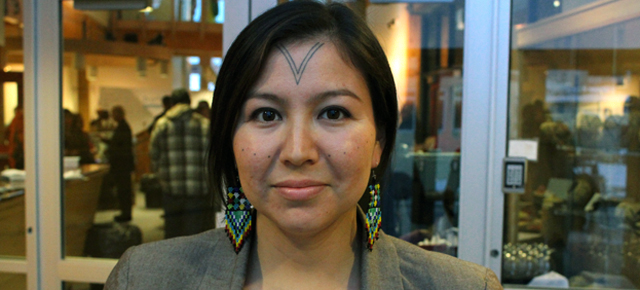 Traditional Inuit Tattoo