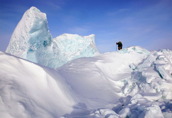 One-woman film crew Dianne Whelan talks about shooting on Everest and in the Canadian Arctic