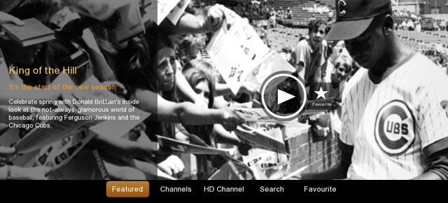 NFB launches BlackBerry Playbook app