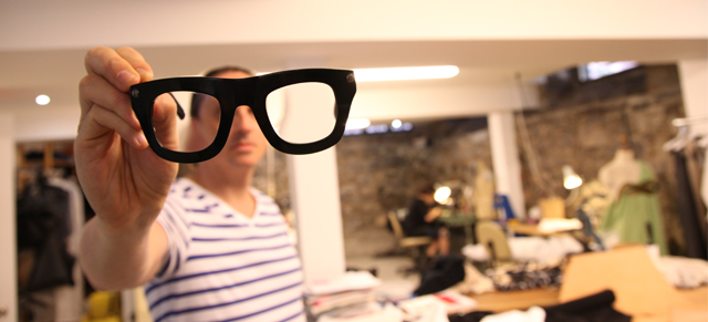 BARCODE.tv – Designer Denis Gagnon's glasses