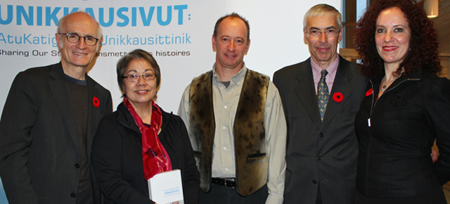 Unikkausivut – Sharing our Stories launches in Iqaluit, Nunavut