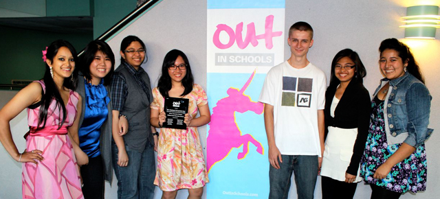 Out in Schools – Rise Against Homophobia Video Contest