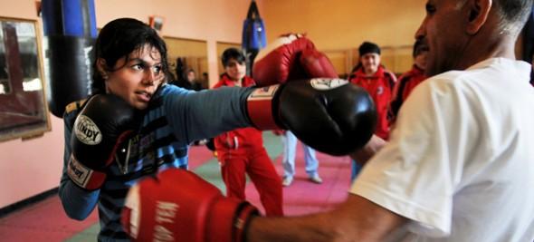 Boxing Girls of Kabul