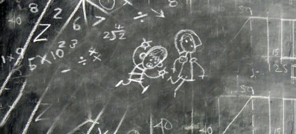 Chalkboard 2D design