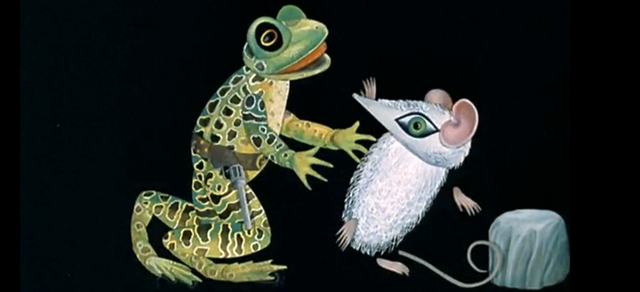 Frog Meets Mouse: Evelyn Lambart's Mr. Frog Went A-Courting