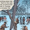 Screen grab from the War of 1812 graphic novel interactive application