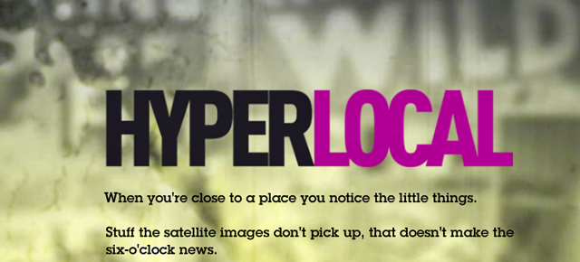 Hyperlocal | The Big Picture, with Sean Embury & Steve Lindenberg