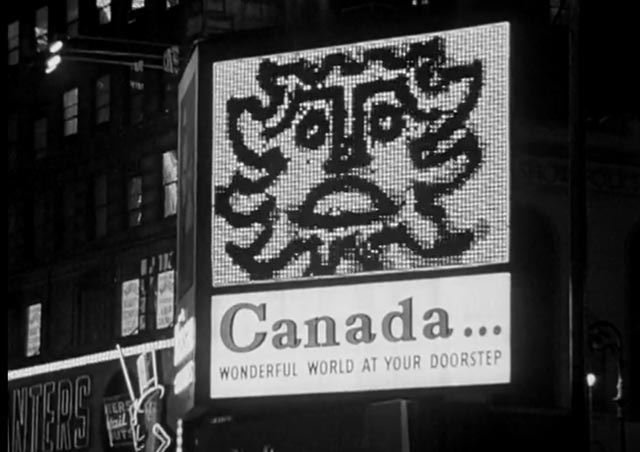 New York Lightboard record (Norman McLaren, 1961)