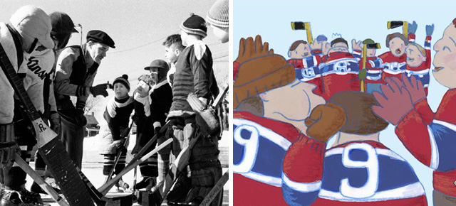 Hockey: The Great Canadian Game… As Seen by the NFB