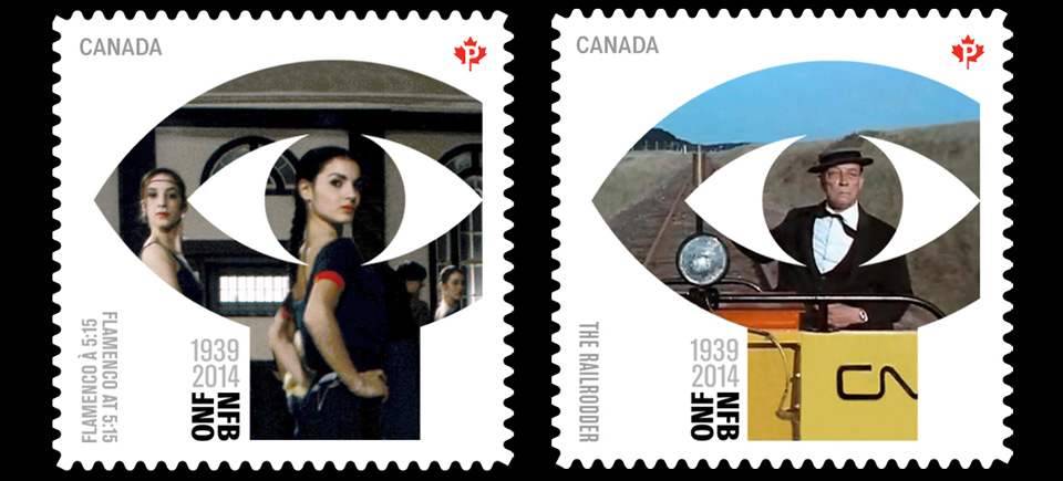Films on stamps / stamps on film: watch 5 films commemorated by Canada Post