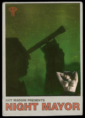 """Night Mayor"" card by Galen Johnson, c. 2009"