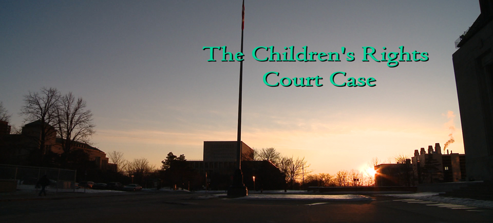 Alanis Obomsawin and the Children's Court Case
