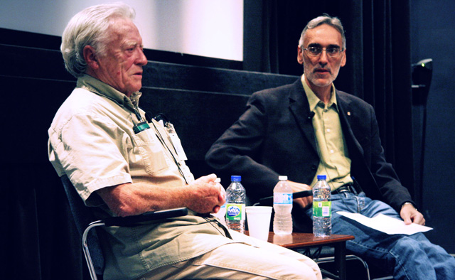 Gerald Potterton and Albert Ohayon in conversation