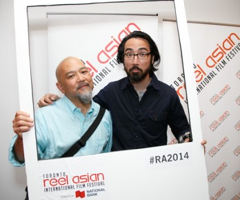 With Randall Okita at Reel Asian's TIFF 2014 event! (photo by Jessie Lau)