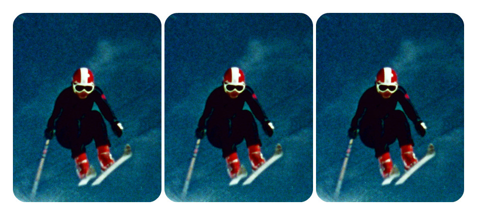 What's the trick to capturing thrills on camera? Watch 4 films on winter sports!