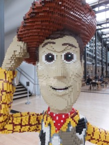 …made of legos  (OK, these last photos were for the grandkids – Marcy)