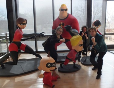 The Incredibles…plus pretenders Torill Kove, Lise Fearnley & Marcy Page