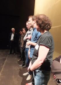 Post-screening Q&A: Ron Diamond, Robert Kondo & Dice Tsutsumi (The Dam Keepers), Joris Oprins & Job Roggeveen (A Single Life), Kristina Reed (producer, Feast)