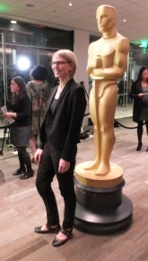 Torill poses for photographers at Academy® Short Film Reception