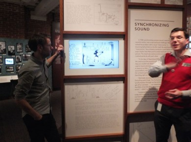 "Disney Museum: ""Mickey-mousing"" sound"