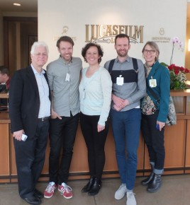 Ron, Job, Kristina, Joris & Torill at Lucasfilm/ILM