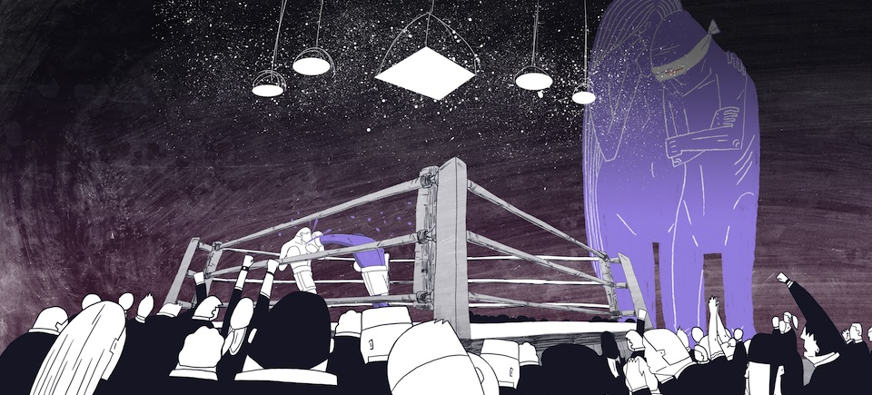 Hercules Enters the Ring: New NFB Animation