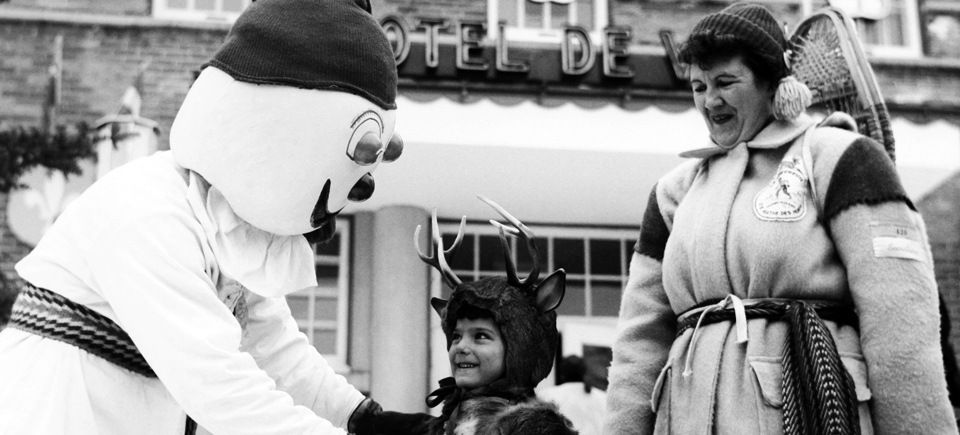 Photo Friday   Check out Quebec City's Winter Carnival in the 50s and 70s