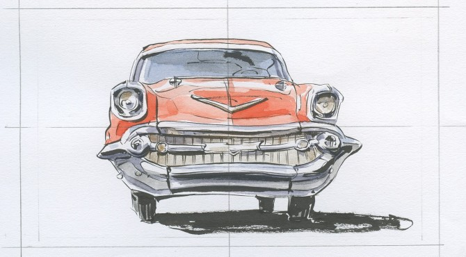 The 1957 Chevy Bel Air