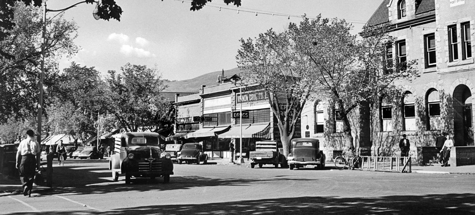 Photo Friday | A Beautiful Day in Vernon, British Columbia, 1948