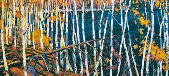 Painting by Tom Thomson, In the Northland