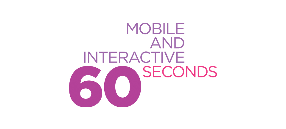 Meet the Winners of the Mobile and Interactive 60 Seconds Project!