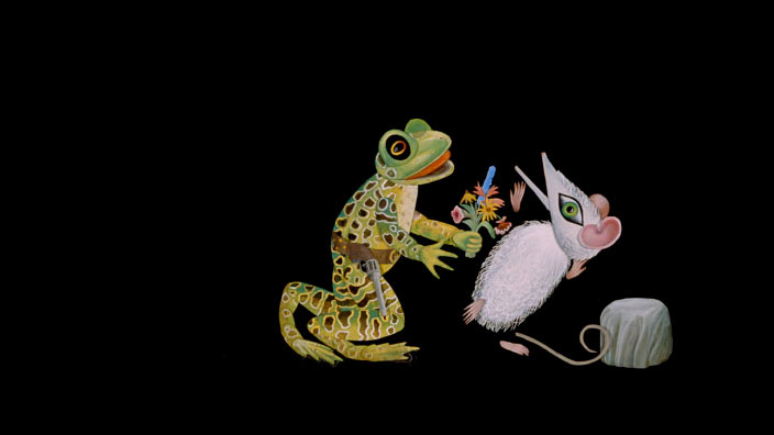 #MyNFB : A Lyrical Ode to Evelyn Lambart's Mr. Frog Went A-Courting