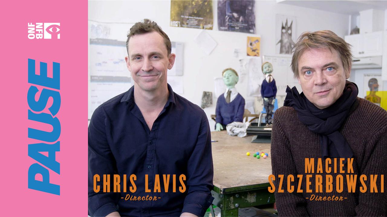NFB Pause: Chris Lavis and Maciek Szczerbowski talk Gymnasia